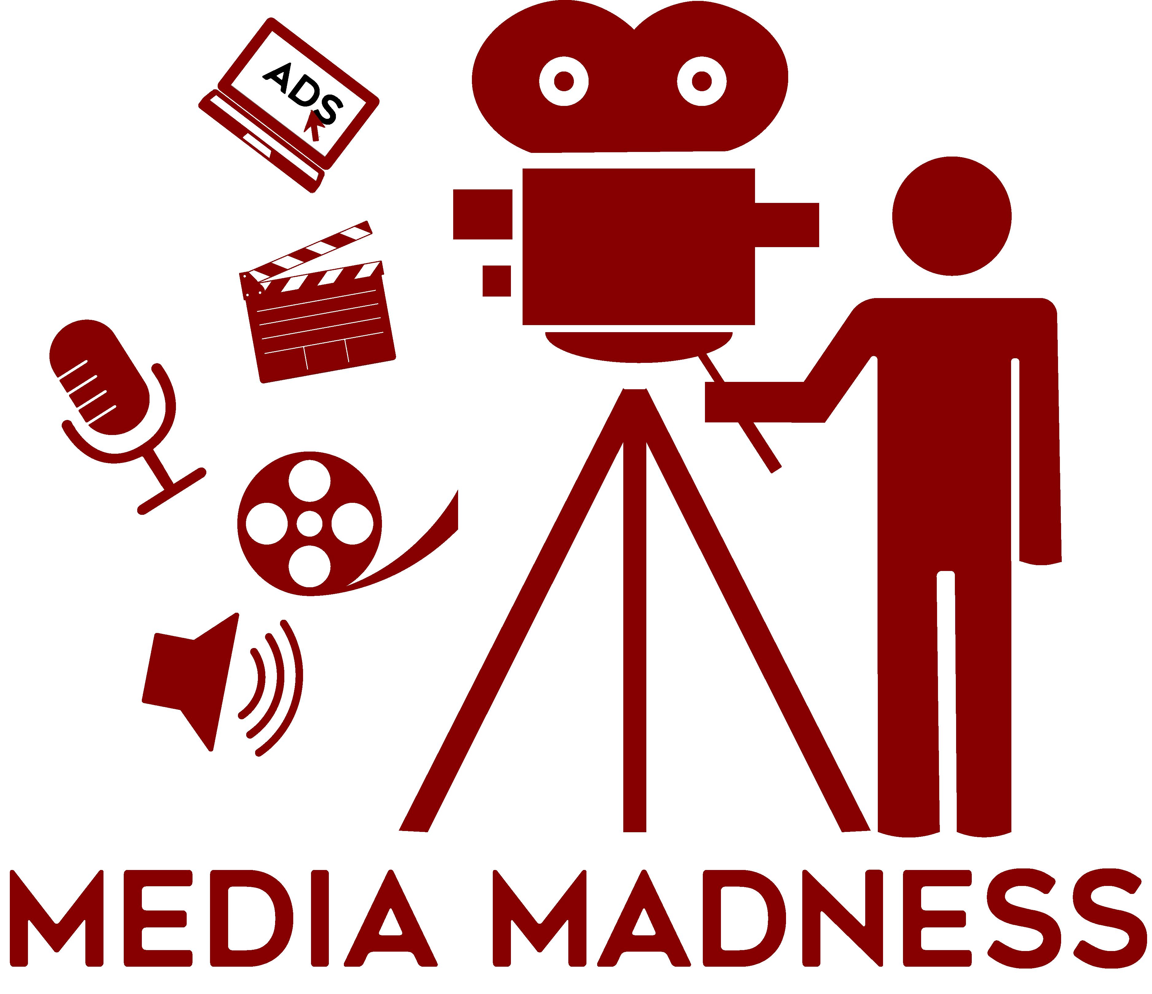 Media Madness Logo